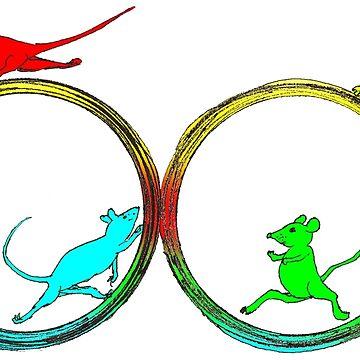 Mice on wheels by davidfraser