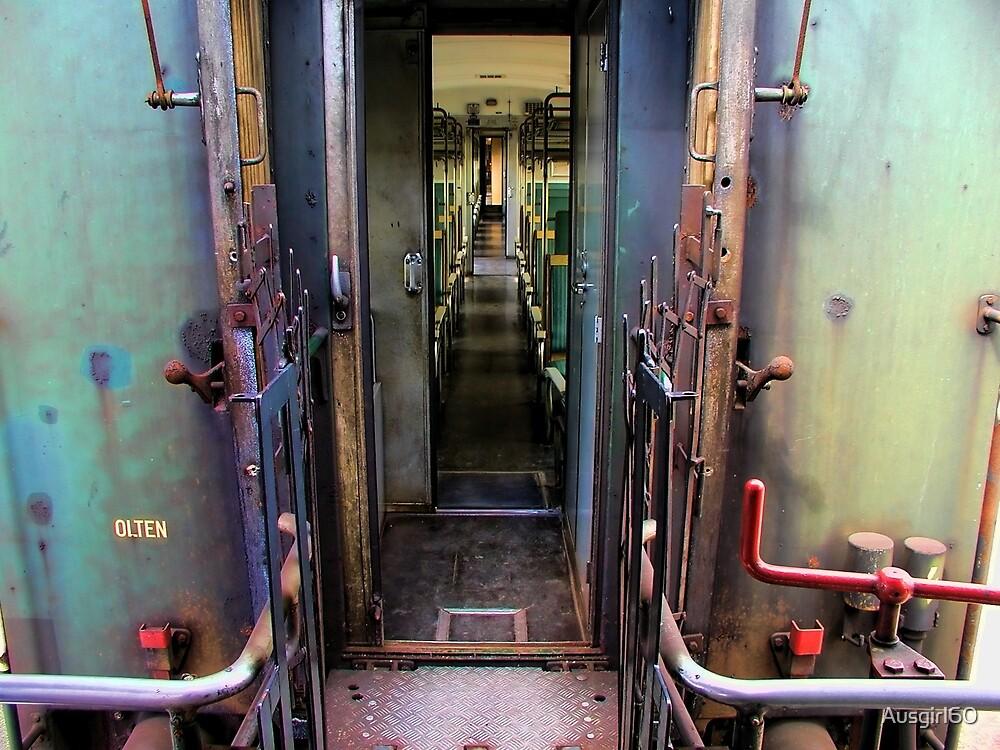 Trains a coming by Ausgirl60