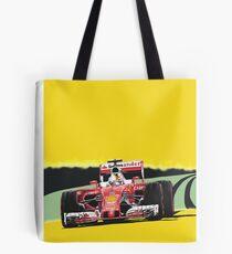 Ferrari Grand Prix racing car Tote Bag
