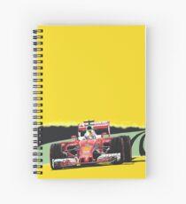 Ferrari Grand Prix racing car Spiral Notebook