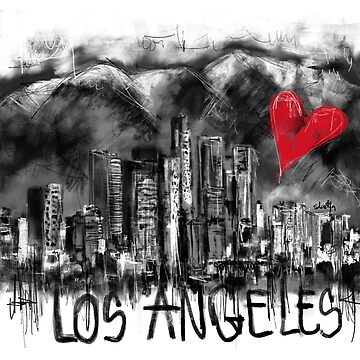 I love Los Angeles by sladjana