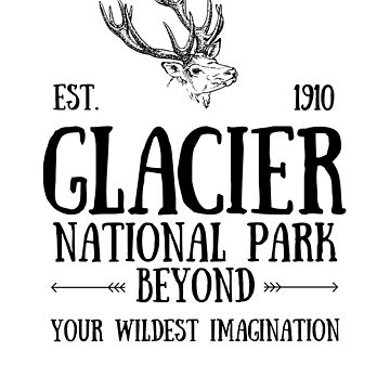 Deer Glacier National Park Montana by YuliyaR