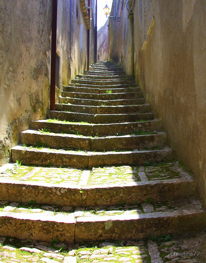 Arch & Stair Series - Stairway to heaven?  by Christine Oakley