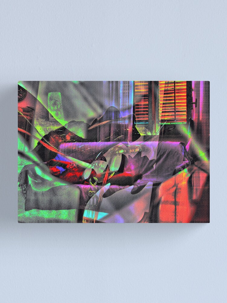 Alternate view of nigthmare Canvas Print
