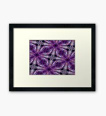 Amethyst Sparkle Framed Print