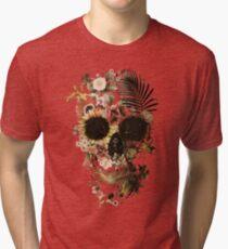 Garten Schädel Licht Vintage T-Shirt
