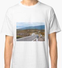 Scotland - Single-track road Classic T-Shirt