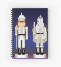 Toy King and Mouse King on Christmas Eve. Spiral Notebook
