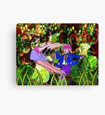 Dancing in the woods Canvas Print