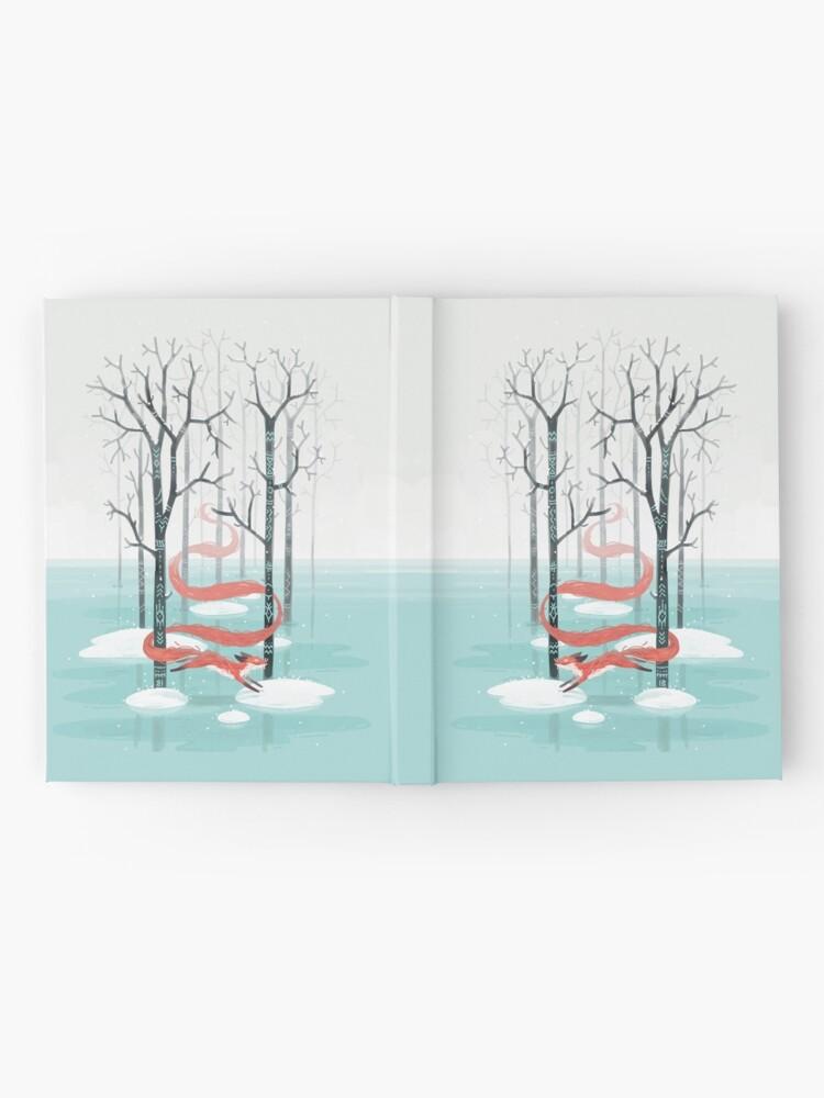 Alternative Ansicht von Waldgeist Notizbuch