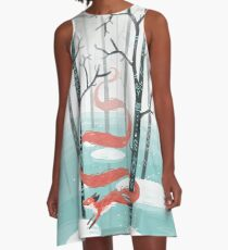 Forest Spirit A-Line Dress