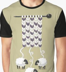 Wool Scarf Graphic T-Shirt