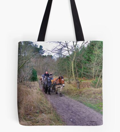 A ride through the forest Tote Bag