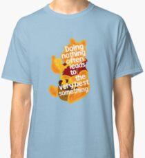 Doing nothing bear Classic T-Shirt