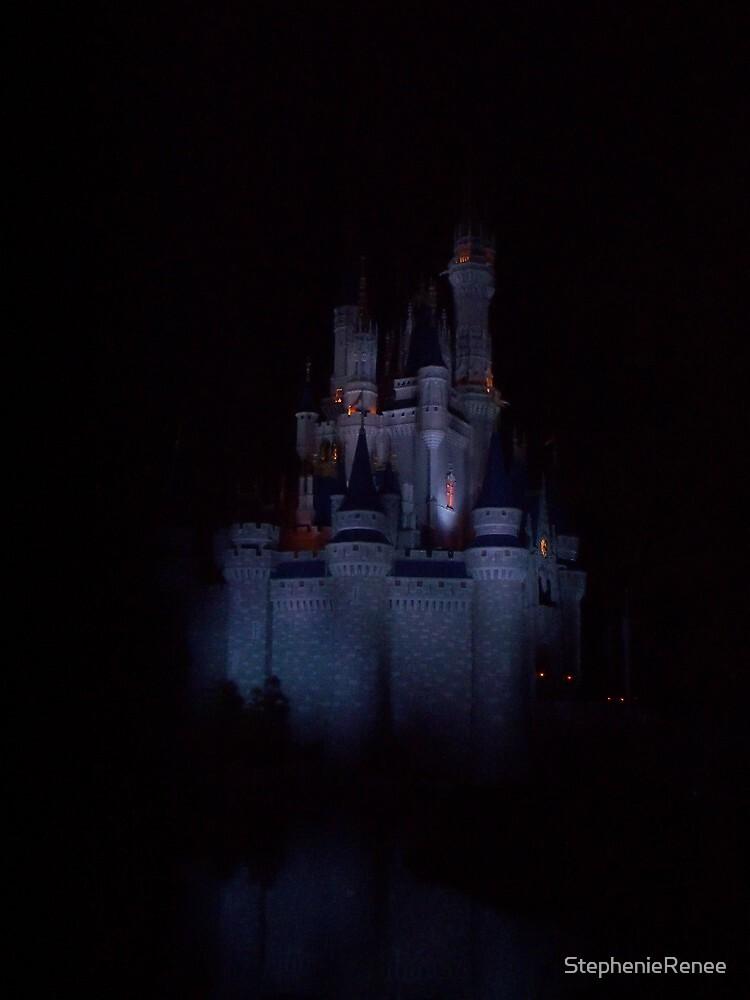 Castle at Night by StephenieRenee