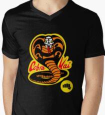 Camiseta para hombre de cuello en v Cobra Kai