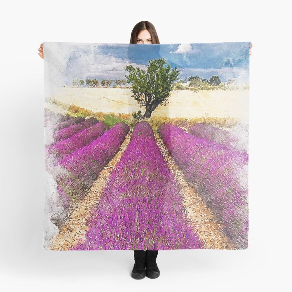 Lavender fields Scarf