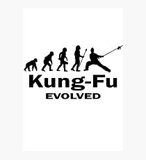 Kung- Fu Evolved Photographic Print