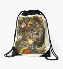 Wasteland Cache Drawstring Bag
