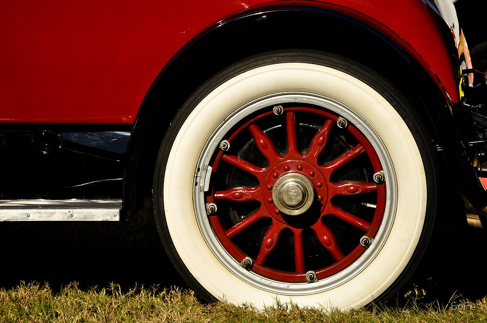 Red Wheel by SoFe