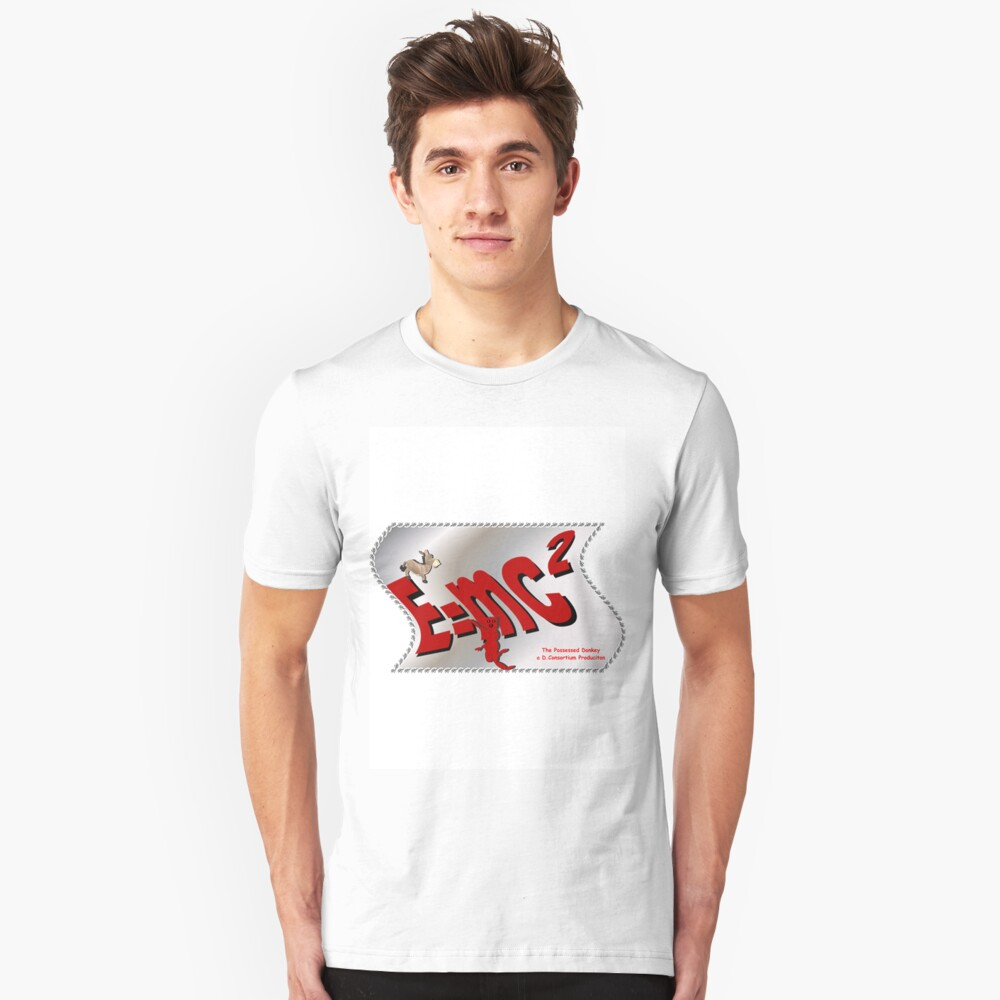 Disproving the Laws of Physics Unisex T-Shirt Front