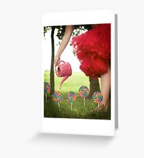 Mary Mary Quite Contrary II Greeting Card