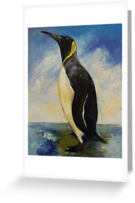 King Penguin by Michael Creese