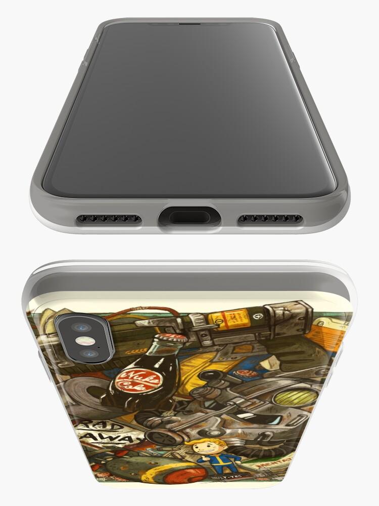 Alternative Ansicht von Ödland-Cache iPhone-Hülle & Cover