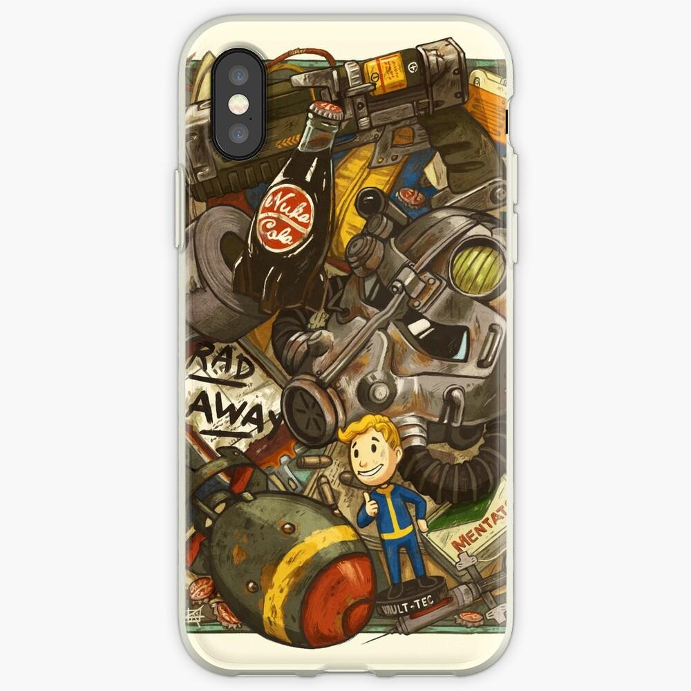 Ödland-Cache iPhone-Hülle & Cover