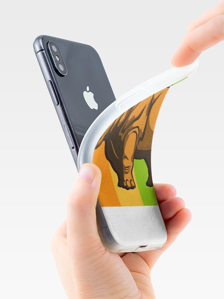 Alternative Ansicht von Nashorn iPhone-Hülle & Cover