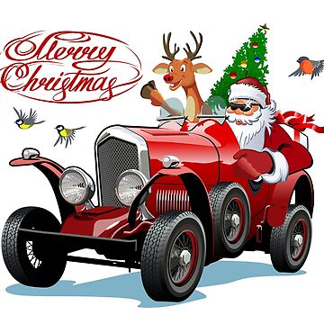 Christmas greeting card by Mechanick