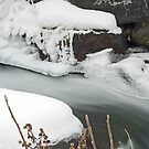 Icy Waterfall by Mike Oxley
