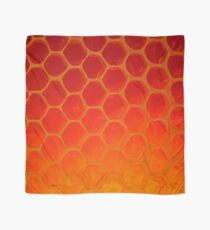 Honeycomb Gold - The Bee's Gift Scarf