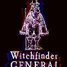 Psychadelic Matthew Hopkins Witchfinder General T-Shirt by Nick Lewis