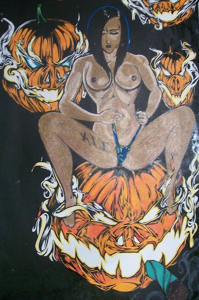 the pumpkin Queen.001. by Alabamaenoch