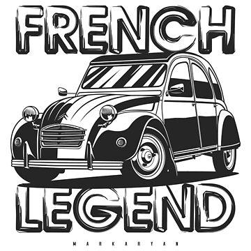 French Legend 2CV by OlegMarkaryan