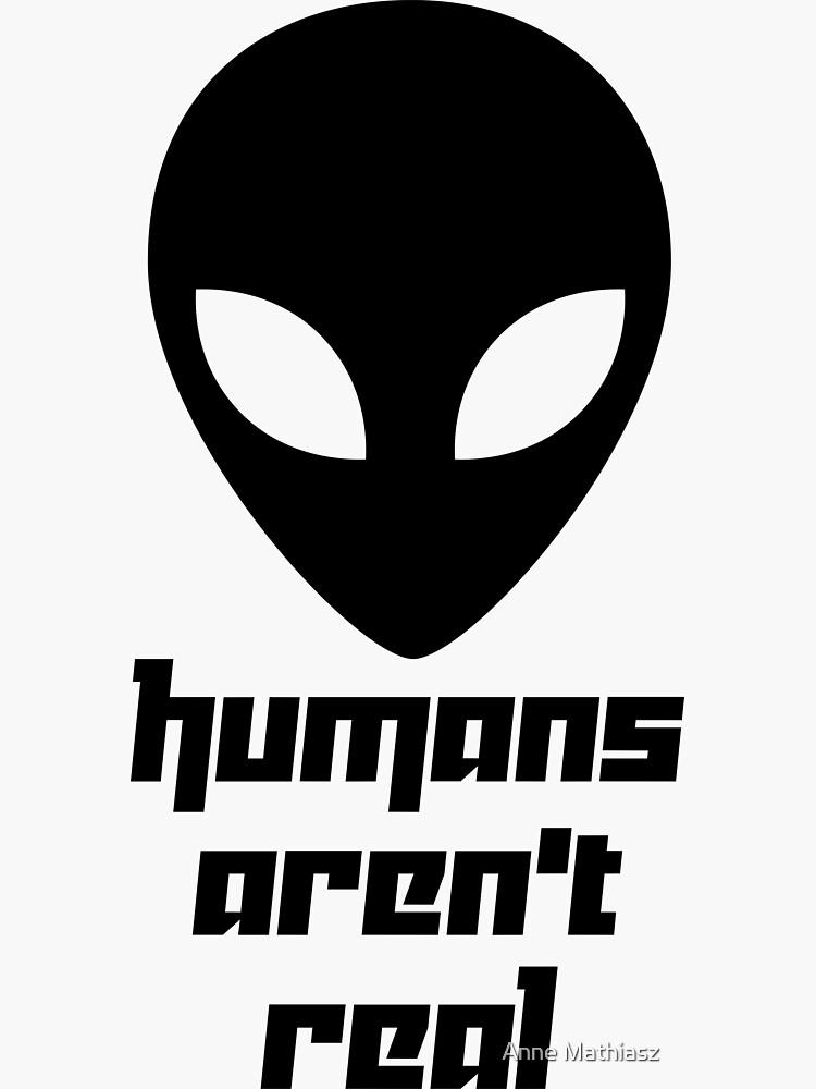 Alien - los humanos no son reales de boom-art