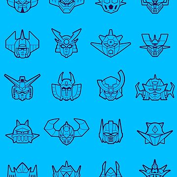 Robot Icons by yexart