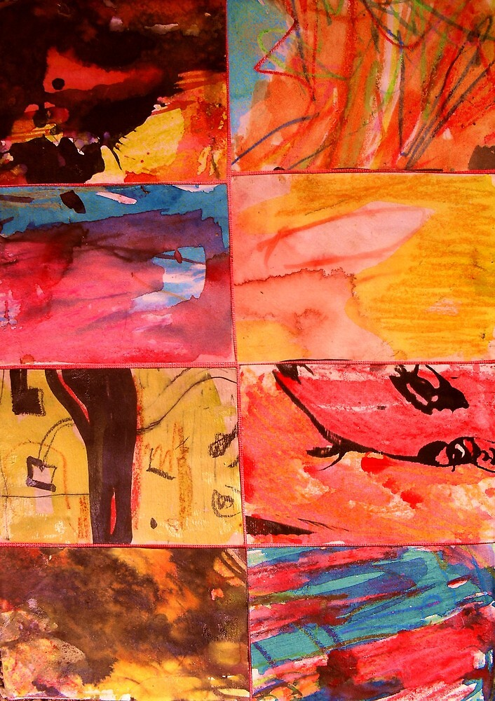 Abstract Expression 1. by Richard  Tuvey