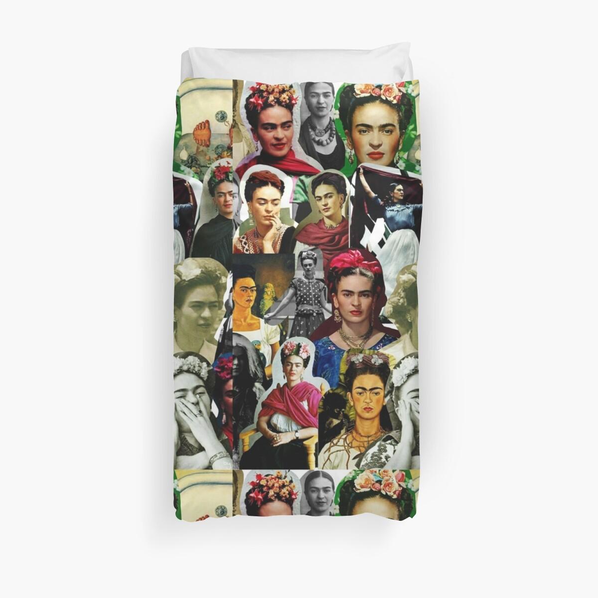 Frida Kahlo Collagen von DwightBenson