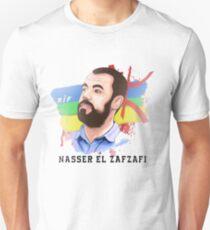 t-shirt of NASSER EL ZAFZAFI,rif,hirak,freedom, Slim Fit T-Shirt