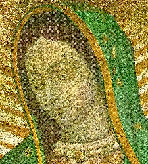 El Rostro de la Virgen by PZAndrews