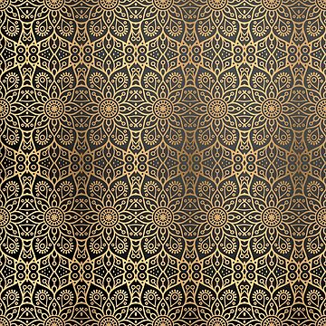 Luxury Ornamental Pattern Art by FrancisDigital