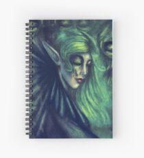 Absynthe Spiral Notebook
