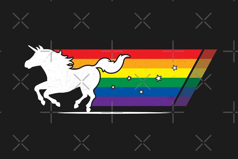 Rainbow Unicorn Gallop by zoljo