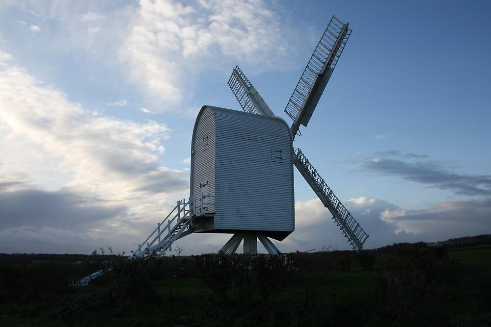Chillenden Mill by Dave Godden