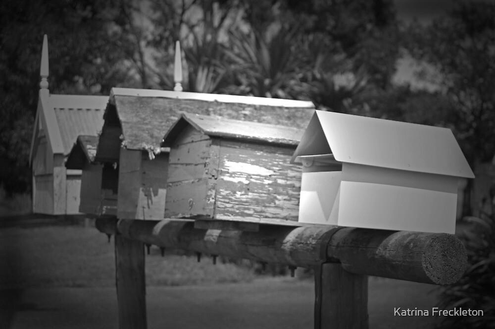 Letterboxes by Katrina Freckleton