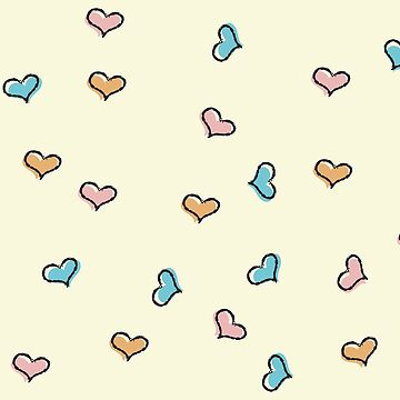 Cute Hearts Pattern by TheMaker