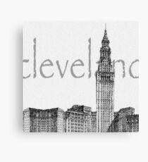 Cleveland's Landmark Canvas Print