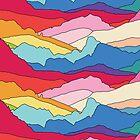 Regenbogenberge von Elebea von elebea
